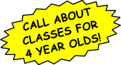 Call about classes for 4 year olds!