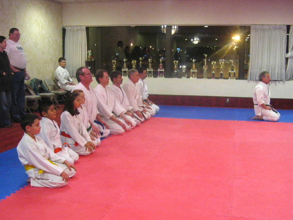 Class members with Sensei Valvona
